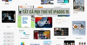 Apple WWDC 2021: Các tính năng mới của iPad có trên iPadOS 15 (Phần 2)