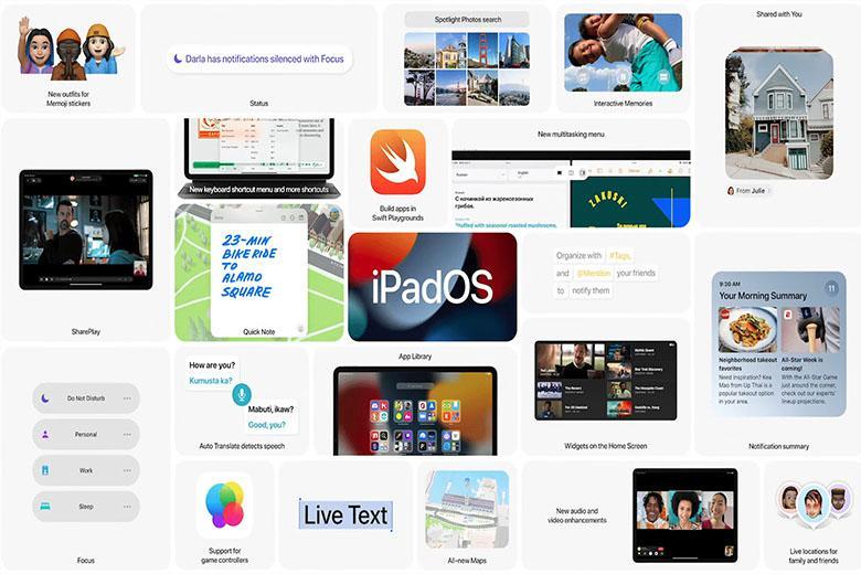 Sơ lược về iPadOS 15