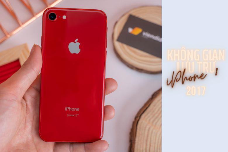 iPhone ban đầu có phiên bản 4GB và 8GB