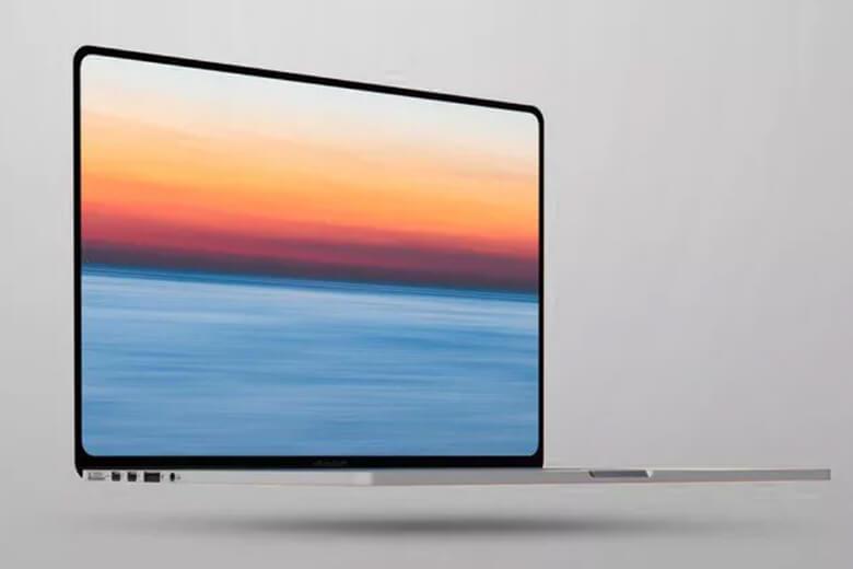 Macbook Pro 2021 với lần 'trình làng' này sẽ có một sự thay đổi về ngoại hình giống như từ iPhone X lên iPhone 12 Series. Thiết bị sẽ có thiết kế mặt phẳng cùng đường bo góp vuông vắn thay vì bo trong như dòng Macbook Pro tiền nhiệm.