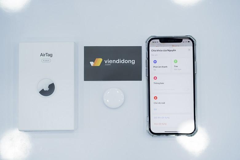 Công cụ tìm kiếm Apple AirTag