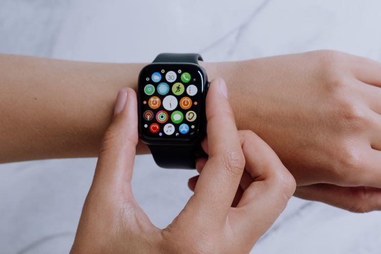 Vòng xoay kỹ thuật số trên Apple Watch