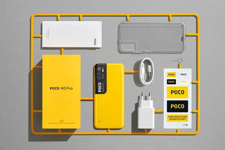 Poco M3 Pro 5G sở hữu cho mình con chip dễ dàng bắt gặp được trên những smartphones hiện đại nằm ở mức giá tầm trung. Không đâu khác chính là chip MediaTek Dimensity 700 5G, được sản xuất vớiquy trình xử lý 7 nm.
