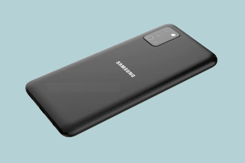 Thiết kế mặt lưng Samsung Galaxy A03s