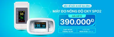 Máy đo nồng độ Oxy – SPO2