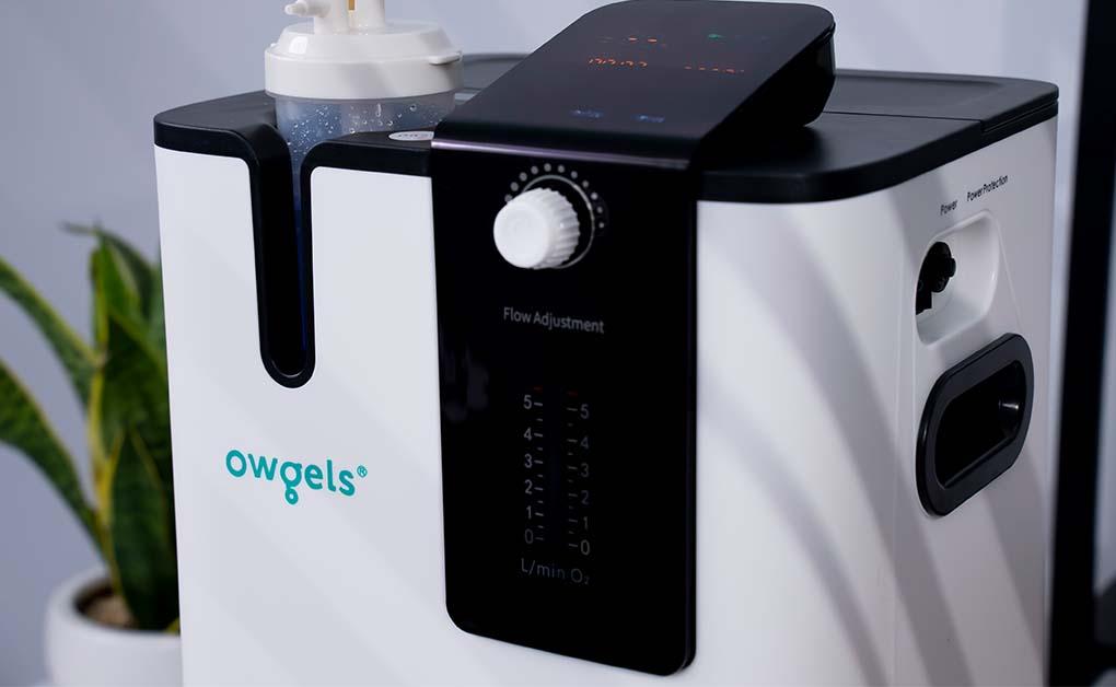 Máy tạo oxy 5 lít Owgels OZ-5-01 PWO